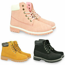 NEW LADIES FASHION HIKING BOOTS WOMENS ANKLE DESERT TRAIL COMBAT LACE SHOES SIZE