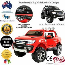 KIDS RIDE ON CAR New Toy Children Electric Battery Cars TRUCK FORD RANGER Remote
