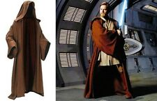 1pc STAR WARS Brown Robe JEDI Hooded Cloak Cape Costume Halloween Cosplay Gift