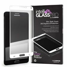 intelliGLASS PRO - Samsung Note 4 White Glass Screen Protector