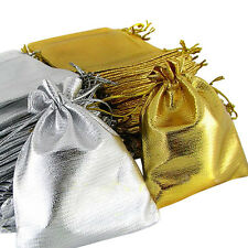 25PCS Drawstring Organza Voile Jewelry Wedding Candy Gift Pouch Bags Nimble