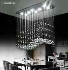 NEW Modern K9 Clear Crystal Ceiling Light Pendant Lamp Chandelier Lighting #1013