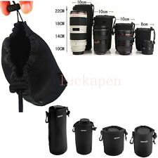 Matin Neoprene waterproof Soft Camera Lens Pouch bag Case Size- S / M / L / XL #