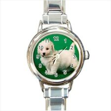 Bichon Frise Italian Charm Watch (Battery Included)