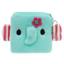 Portable Cartoon Child Kids Plush Zip Coin Purse Wallet Pouch Change Purse
