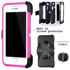 For Apple iPhone Case Cover  Pink - (Belt Clip fits Otterbox Defender series)