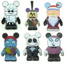 DISNEY PIN VINYLMATION NIGHTMARE BEFORE CHRISTMAS w/ CHASERS COMPLETE YOUR SET