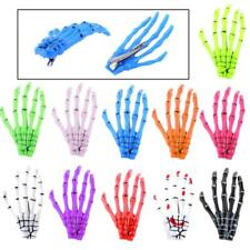 Halloween Party Zombie Skull Skeleton Hand Bone Claw Hairpin Punk Hair Clips