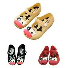 3 Colors Jelly Kids Girls Lovely Sandals Soft Bottom Fish Head Shoes Kids Shoes