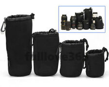 Matin Neoprene waterproof Soft Camera Lens Pouch bag Case Size- S M L XL LS