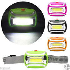 600LM 5W COB LED Headlamp Headlight Torch Lamp Adjustable Angle Outdoor Camping