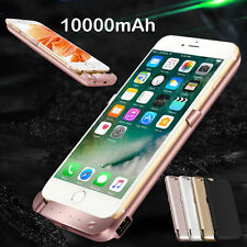 10000mAh Power Bank Backup Charger Charging Cover Case For iPhone 6 7 Plus