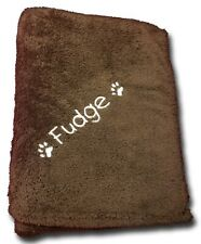 Personalised Snuggle Jumbo Fleece Any Dog Name Embroidered FREE For Dog Beds