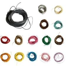 10m Waxed Nylon String Macrame Cords Thread for DIY Making Jewelry Beading 1mm