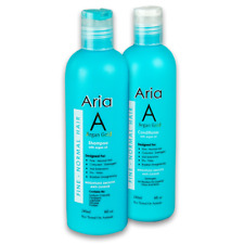 Aria Gold Argan Oil of Morocco 500ml Shampoo & Conditioner & 50ml Argan Oil