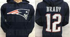 NEW ENGLAND PATRIOTS TOM BRADY DOUBLE SIDED JERSEY HOODIE