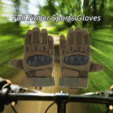 New Hard Knuckle Full Finger Tactical Gloves Sport Cycling Hunting Outdoor U2W9