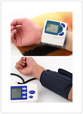Pro Digital Arm Blood Pressure Upper Automatic Monitor Heart Beat Meter LCD LC