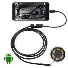 2M Android Endoscope 7mm 6 LED USB Waterproof Borescope Inspection HOT LC
