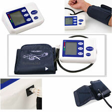 Hot Digital Arm Blood Pressure Upper Automatic Monitor Heart Beat Meter LCD LC