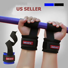 Gym Fitness Bandage Strap Weight Lifting Training Wraps Wrist Support 1 Pair