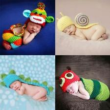 Newborn Baby Crochet Photography Photo Props Outfits Baby Costumes Cute