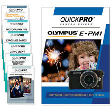Olympus E-PM1 Quickpro Camera Training DVD Instructional SLR Video Guide NEW