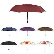 Men Women Anti UV Sun Rain Foldable Umbrella Compact Travel Fold Up Parasol