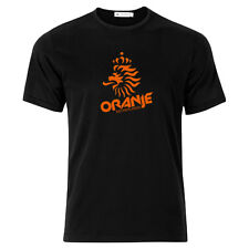 Oranje!! Holland Netherlands fans vintage design t-shirt 100% cotton WW shipping