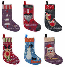Christmas Stocking Traditional TAPESTRY Design Christmas Stocking Xmas Stocking