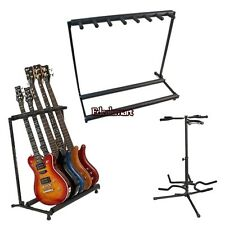 GUITAR HOLD STAND for 3/5/7 MULTIPLE INSTRUMENT Guitars Bass Display Rack Holder