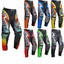 WULF ADULTS ATTACK MOTOCROSS PANTS TROUSER OFF ROAD MX ENDURO DIRT BIKE NEW 2017