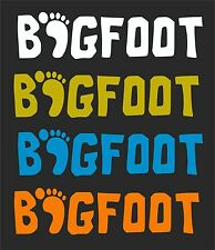 BIGFOOT CAR WINDOW DECAL...PICK YOUR SIZE AND COLOR