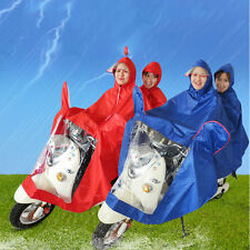 Waterproof Motorcycle Double-Person Raincoat Poncho Adult Hooded Raincoat JL