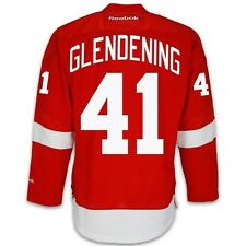 Luke Glendening Detroit Red Wings Home Jersey by Reebok