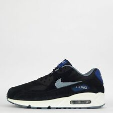 Nike Air Max 90 Essential Mens Casual Trainers Shoes Black/Dove Grey