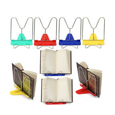Adjustable Angle Foldable Portable Reading Book Stand Document Holder MC