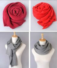 Unisex Winter Scarf Knitted Warm Shawls Stole Neck Wraps Long Soft Thick Comfort