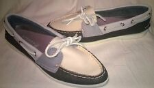Brand New in Box Sperry Top-Sider Womens Parker Boat Shoe; Charcoal/Ivory!