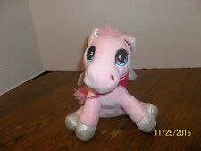 "INTER AMERICAN PRODUCTS PINK PEGASUS HORSE PLUSH 7"" TALL"