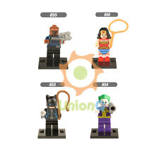 053-056 Cat woman The joker Nick Fury Woder woman figure Building Block toys