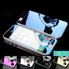 Luxury Mirror Tempered Glass Screen Protector For iPhone 4 4S 5 5S 6 Plus/ 6S/ 7