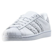 adidas Superstar Mens Trainers White New Shoes
