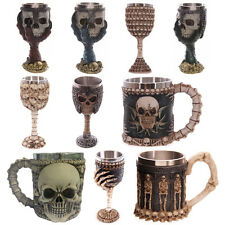 3D Creative Horror Dragons Skeleton Skull Goblet Wine Cup Halloween Party Mugs