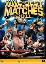 WWE: The Best Pay-Per-View Matches of 2011 NEW (DVD, 2011, 3-Disc Set) CM Punk
