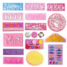 Silicone Fondant Cake Decorating Mould Chocolate Baking Sugarcraft Mold Tool