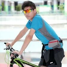 Outdoor Multifunctional Fishing Bicycle Waist Pack with Water Bottle Holder P0N8