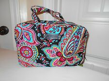 Vera Bradley Parisan Paisley Grand Cosmetic New With Tags