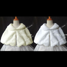 #P7 Baby Girls Christening Holiday Pageant Formal Birthday Party Poncho Cape