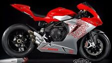 MV Agusta 2 Belly Pan Decals 11.7 x 2.6 F3 F4 Brutale Turismo Rivale Stradale